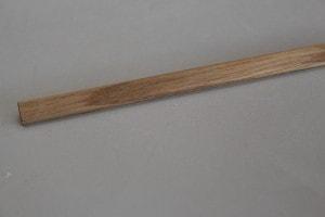 Baguette d'angle chêne massif 14 x 14 mm - vue 3