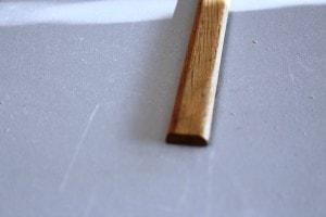Champlat chêne massif 2 arrondis 5 x 17 mm - vue 3