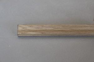 Cimaise chêne massif épaisseur : 9 mm ; largeur:  28 mm - vue 3