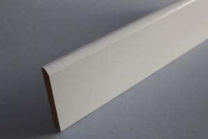 Gamme de plinthes médium décor papier blanc 1 arrondi - vue 2
