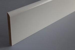 Gamme de plinthes médium décor papier blanc 1 arrondi - vue 3