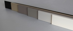 Gamme de plinthe médium décor couleur – 10 x 70 mm - vue 2