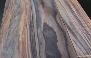 Parquet massif palissandre brut 15 x 120 mm - vue 2