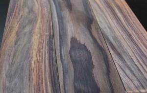 Parquet massif palissandre brut 15 x 120 mm - vue 3