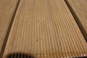 Lames de terrasse en bois exotique ( Bankirai ) - vue 3