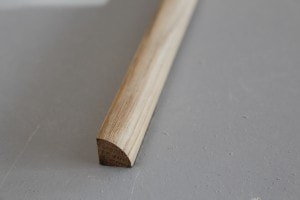 Quart de rond chêne massif 13 mm x 13 mm - vue 1