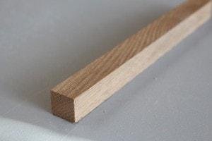 Tasseau bois – Chêne massif – 13 x 27 mm - vue 2