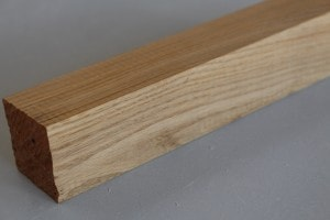 Carrelet 44 x 44 mm en chêne massif - vue 2