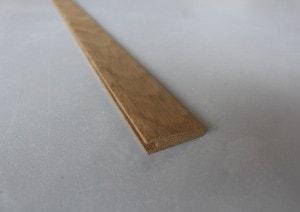 Barre de seuil à la suisse 10 x 35 mm en chêne massif - vue 3