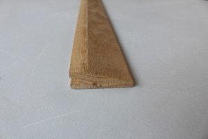 Barre de seuil à la suisse chêne massif 22 x 70 mm - vue 3