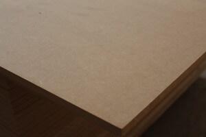 Panneau MDF ( médium) épaisseur 22 mm L:2250 mm l: 1220 mm épaisseur 22 mm - vue 1