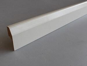 Plinthe electrique cache-fils clipsable en papier blanc - vue 2
