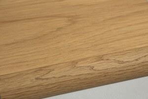Barre de seuil à recouvrement chêne massif pour parquet 18 mm - vue 2