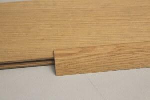 Barre de seuil chêne massif pour parquet de 10 mm - vue 3