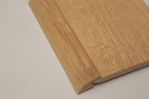Barre de seuil chêne massif pour parquet de 10 mm - vue 2