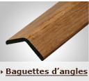 Baguettes d'angle ajustable en chêne