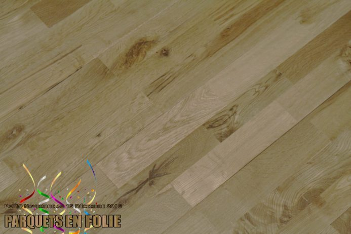 parquet chene massif clipsable 3 frises sable 15 x 150 mm. Black Bedroom Furniture Sets. Home Design Ideas