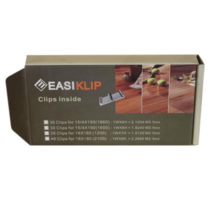 Boite de clips supplémentaire pour parquet EASIKLIP
