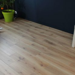 parquet chene massif clipsable finition salin