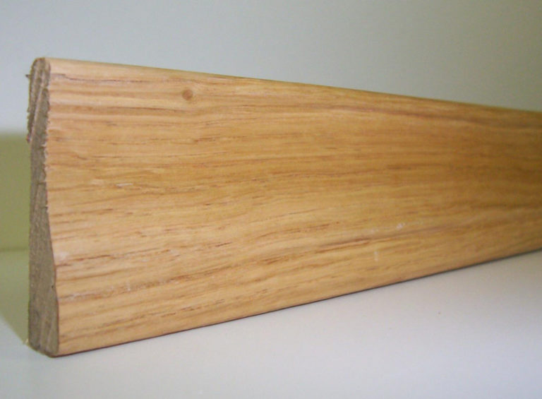Chambranle en placage chene 9 x 45 mm