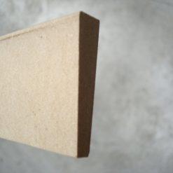 Chambranle Blanc Médium Mdf Revêtu 10 X 36 Mm