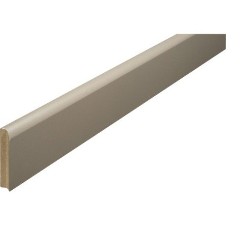 plinthe medium brun taupe 10 x 70