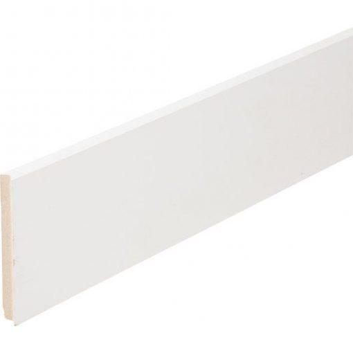 plinthe 16 x 150 blanche bords carrés