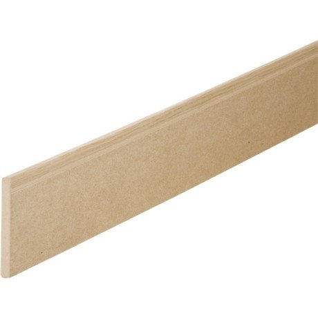 Plinthe en placage chene 12 x 120 mm arrondie