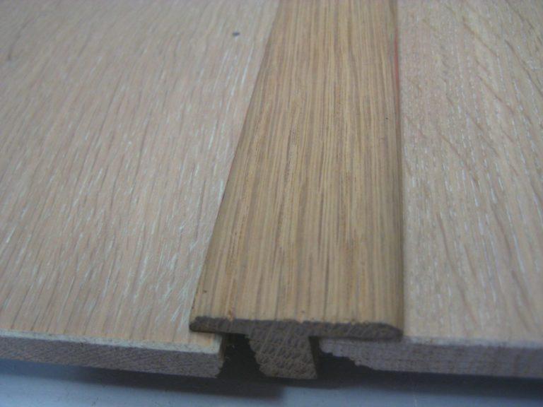 Barre de seuil 21 x 35 mm pour parquets de 18 mm