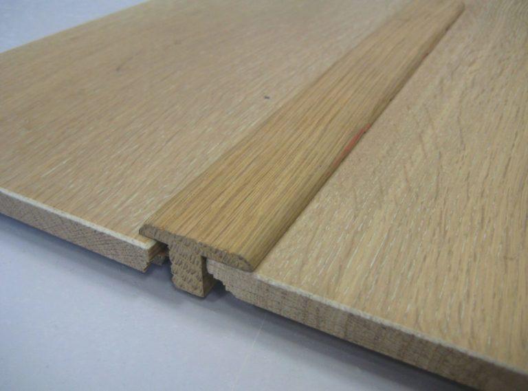 Barre de seuil chene 21 x 25 mm