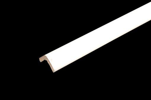 baguette d'angle blanc ivoire