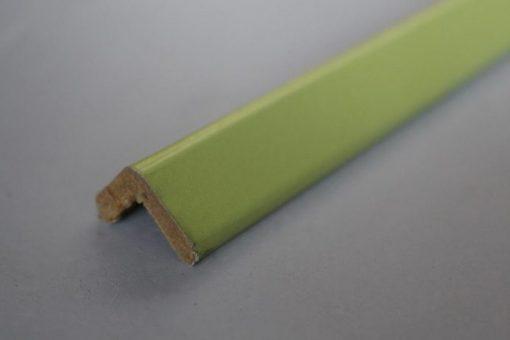 Baguette d'angle verte en médium