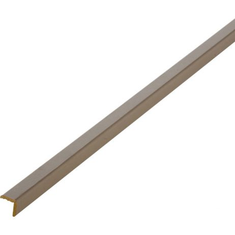 baguette d'angle brun taupe
