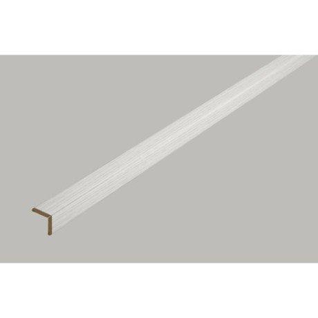 Baguette d 39 angle ajustable angle pliable decor fr ne blanc 23x23mm - Baguette d angle alu ...