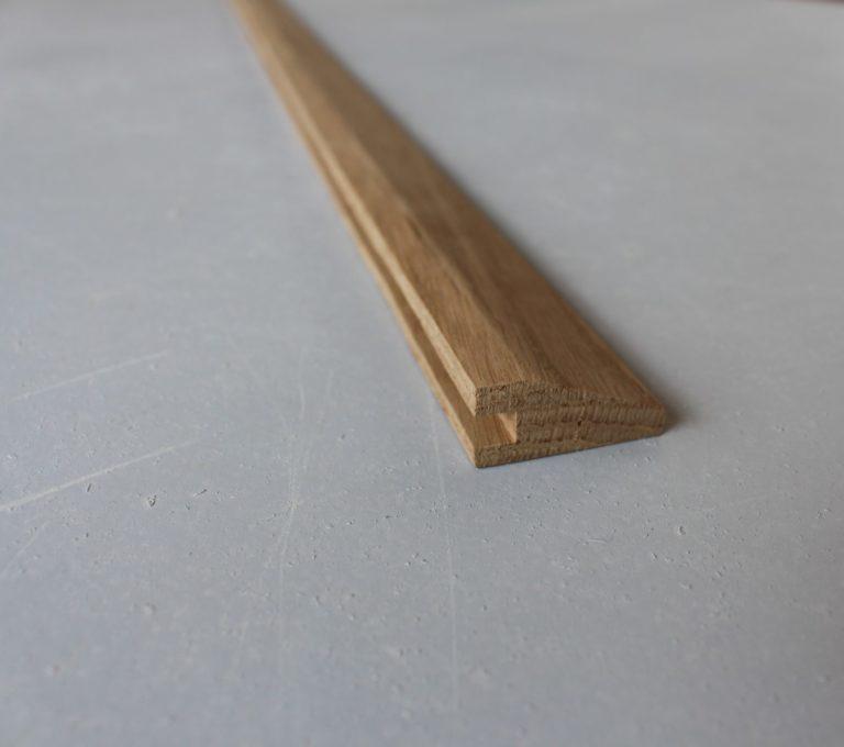 barre de seuil suisse pour parquets de 14/15 mm d'epaisseur