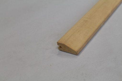 barre de seuil placage chene