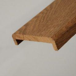 Nez de cloison chêne massif 22 x 68 mm