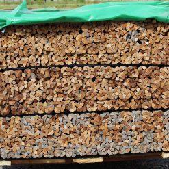 quart de rond bois exotique massif 17 x 17 mm