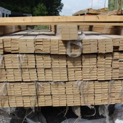 Chambranle contemporains placage chêne 9 x 43 mm