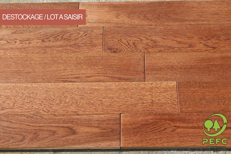 d stockage parquet ch ne massif finition cognac 15 x 90 120 mm. Black Bedroom Furniture Sets. Home Design Ideas