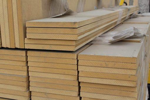 Plinthe placage chêne 20 x 200 mm bords carrés