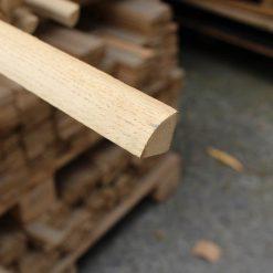 Quart de rond placage chêne 18 x 18 mm