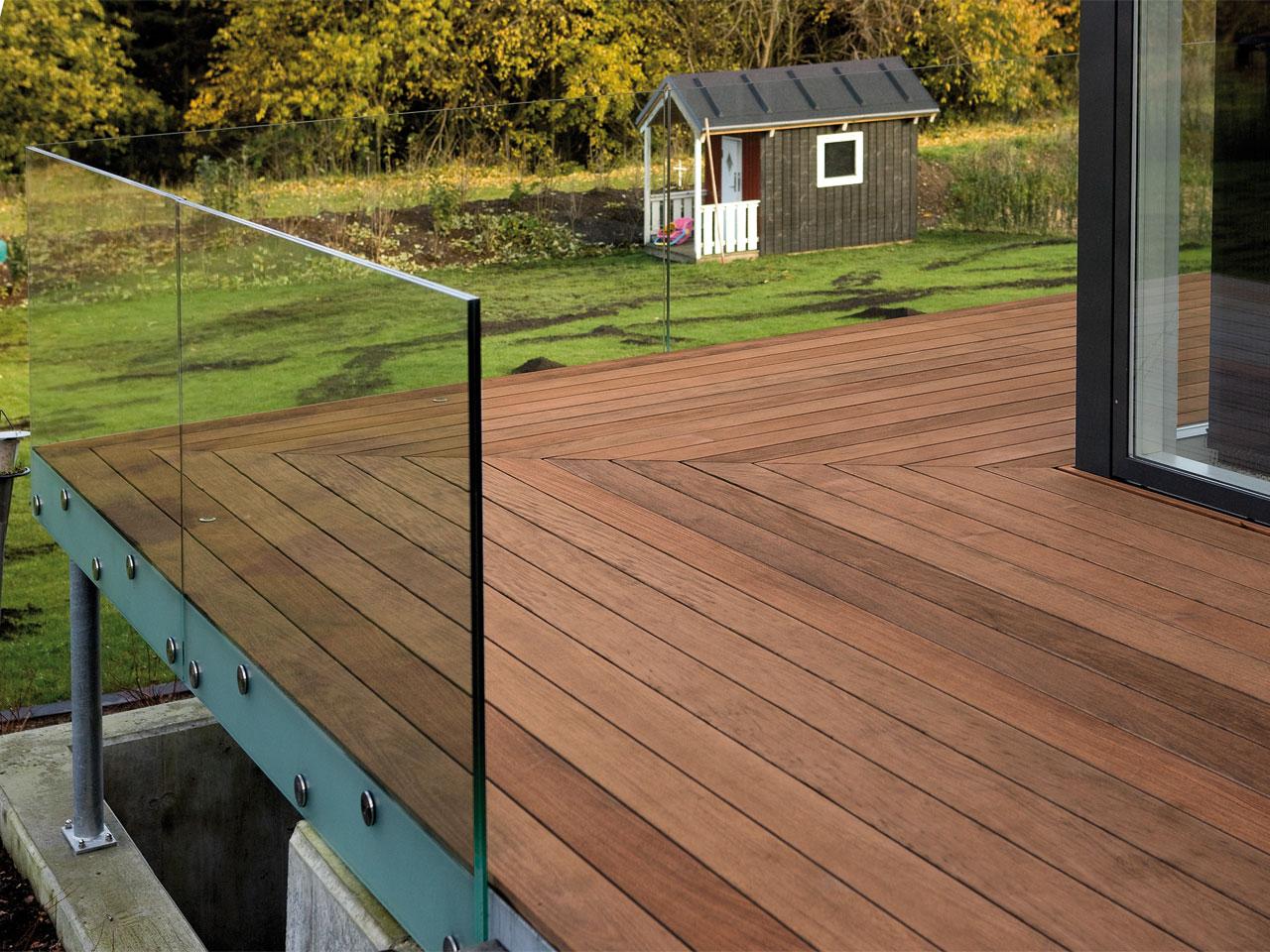 Terrasse En Bois Exotique lames de terrasse bois exotique - en bois massif et sans