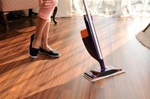 entretien et nettoyage du parquet
