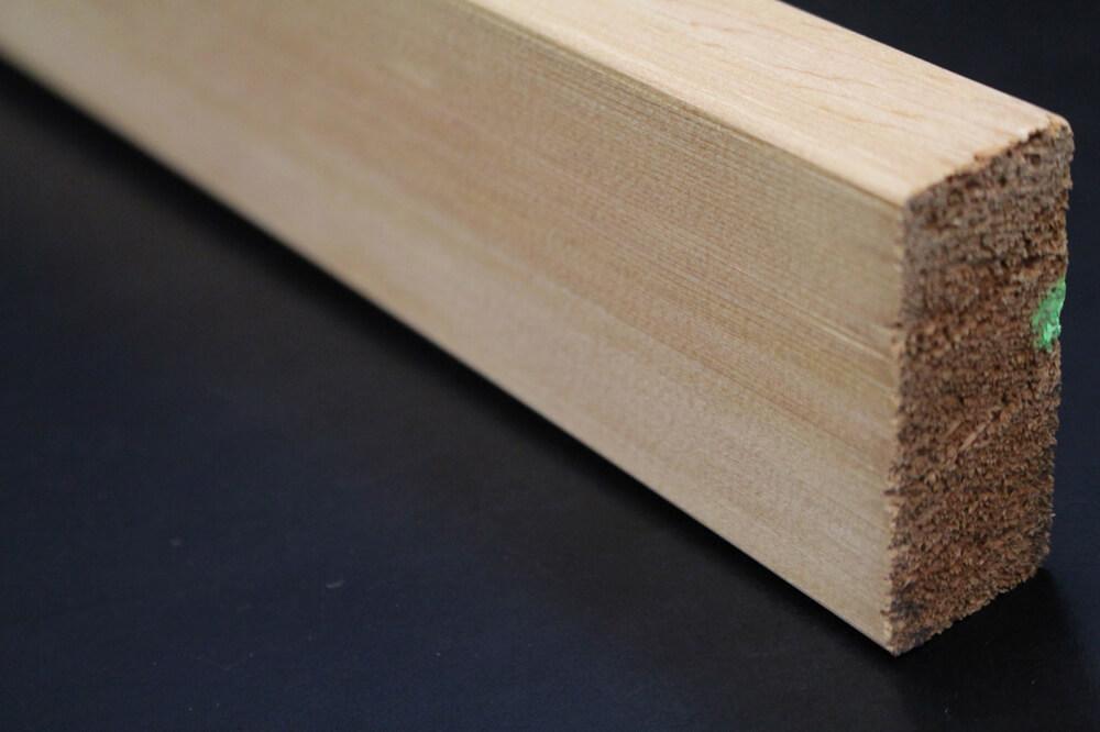 Bardage bois profil claire voie en cèdre
