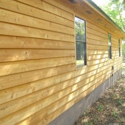 bardage red cedar bevel siding