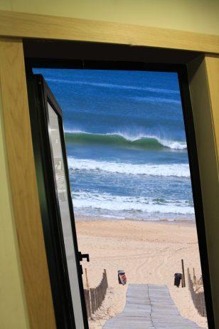 Modern frame for door