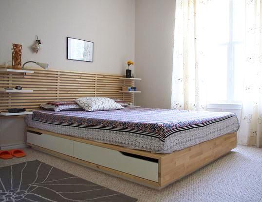 tasseau bois pour tête de lit