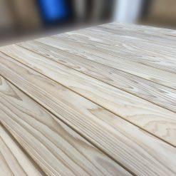terrasse bois clipsable en cèdre