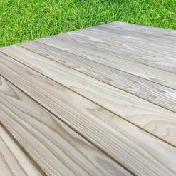 terrasse bois clipsable cedre
